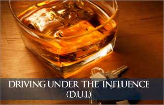 Driving Under  the  Influence (D.U.I.)